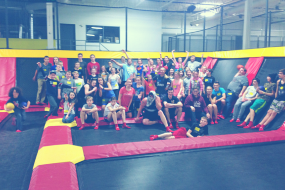 amped youth - trampoline park