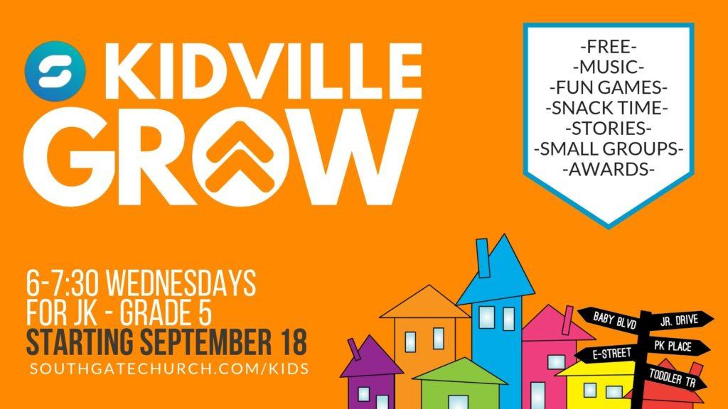 Kidville GROW-3